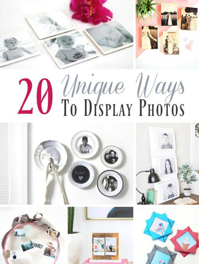 20 Unique Ways to Display Photos