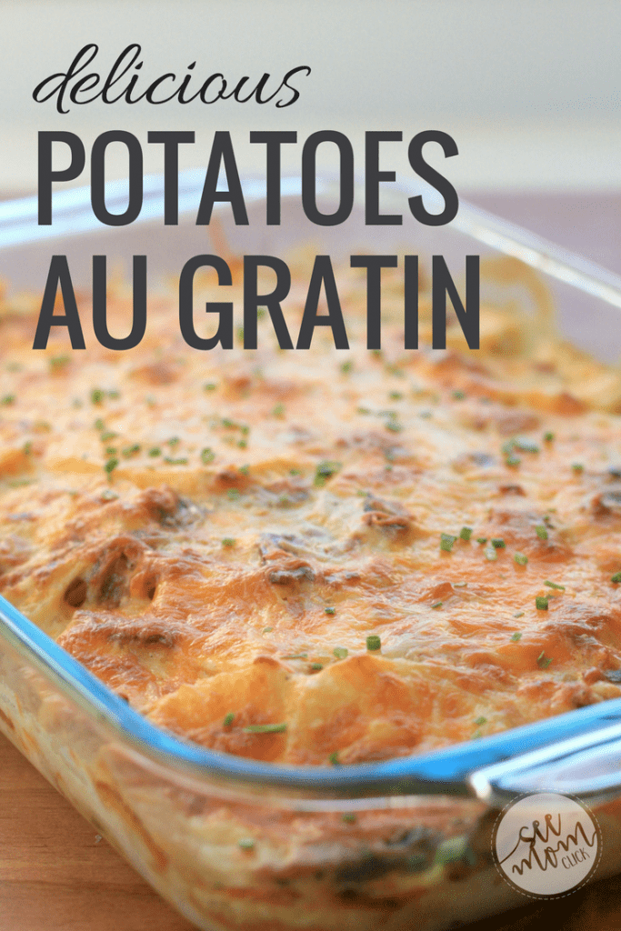 Cheesy potatoes are comfort food and the perfect side dish to serve with almost any meal. Here's my delicious potatoes au gratin recipe. So good, simple ingredients. The whole family loves it!