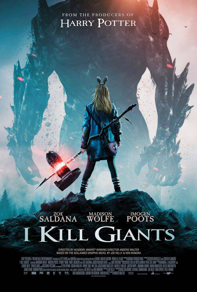 Here's a fun new movie the whole family will love! Catch I KILL GIANTS in select theaters and on demand this spring. I have the trailer and images from the film in the post!