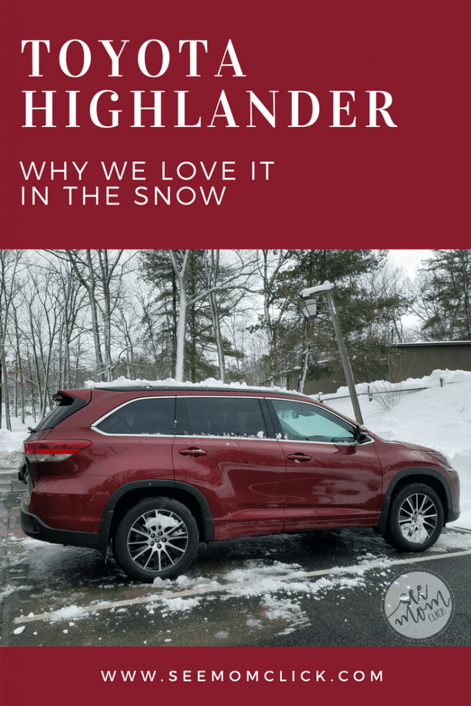 If you live in an area of the country that experiences a snowy winter and need a vehicle to get you through it, check out our experience getting stuck in a snowstorm in the Toyota Highlander. This car was AMAZING under really difficult circumstances!
