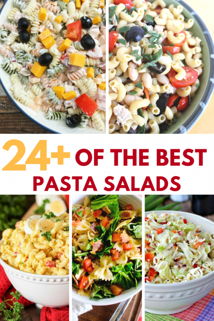 Need a side dish to take to your next cookout, or an easy summer dinner recipe? Try one of these delicious pasta salad recipes. They're fresh, quick, and will be the hit of the picnic!