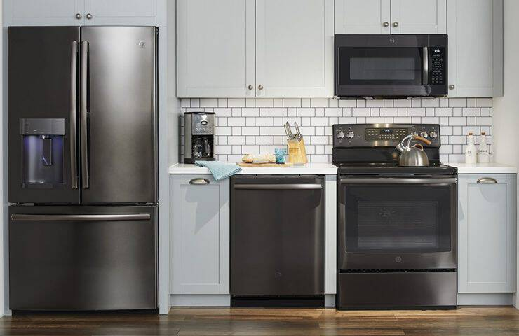 Why Black Stainless Appliances Are All The Rage