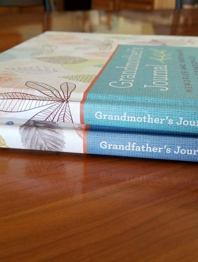 Grandparent Journals Are Family Treasures + A Giveaway!