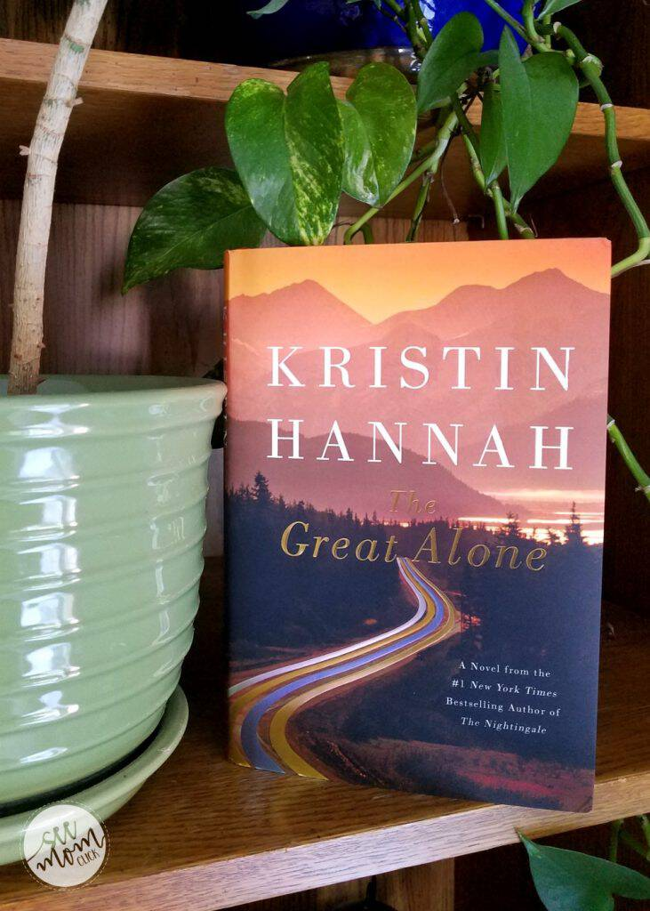 The Great Alone by Kristin Hannah is the perfect pick for your next book club read. This book is SO good, it will keep you up at night reading!