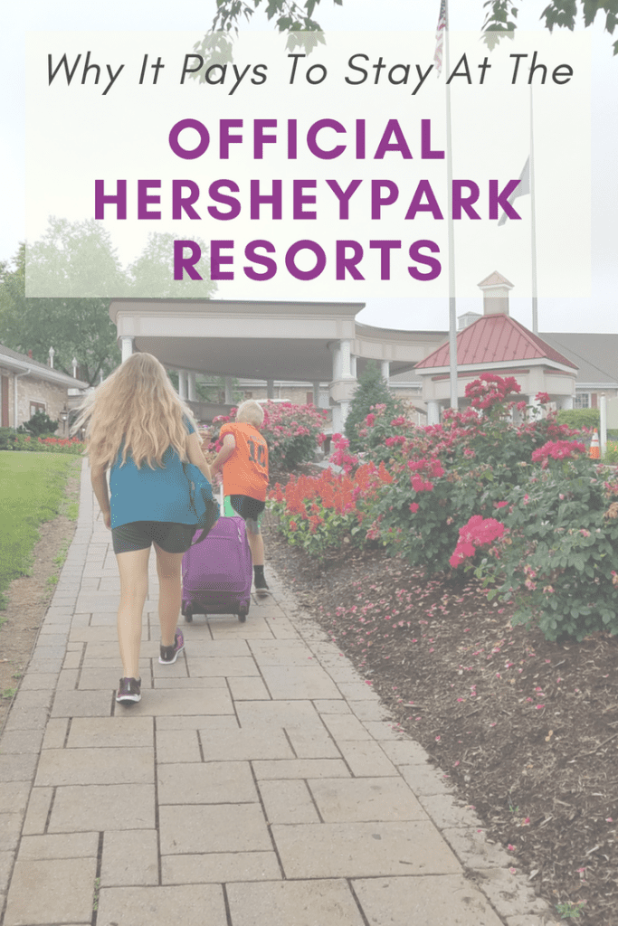 Hershey, PA is our favorite destination for family fun year-round! We love to stay at one of the Official Resorts of Hersheypark for all these great perks!