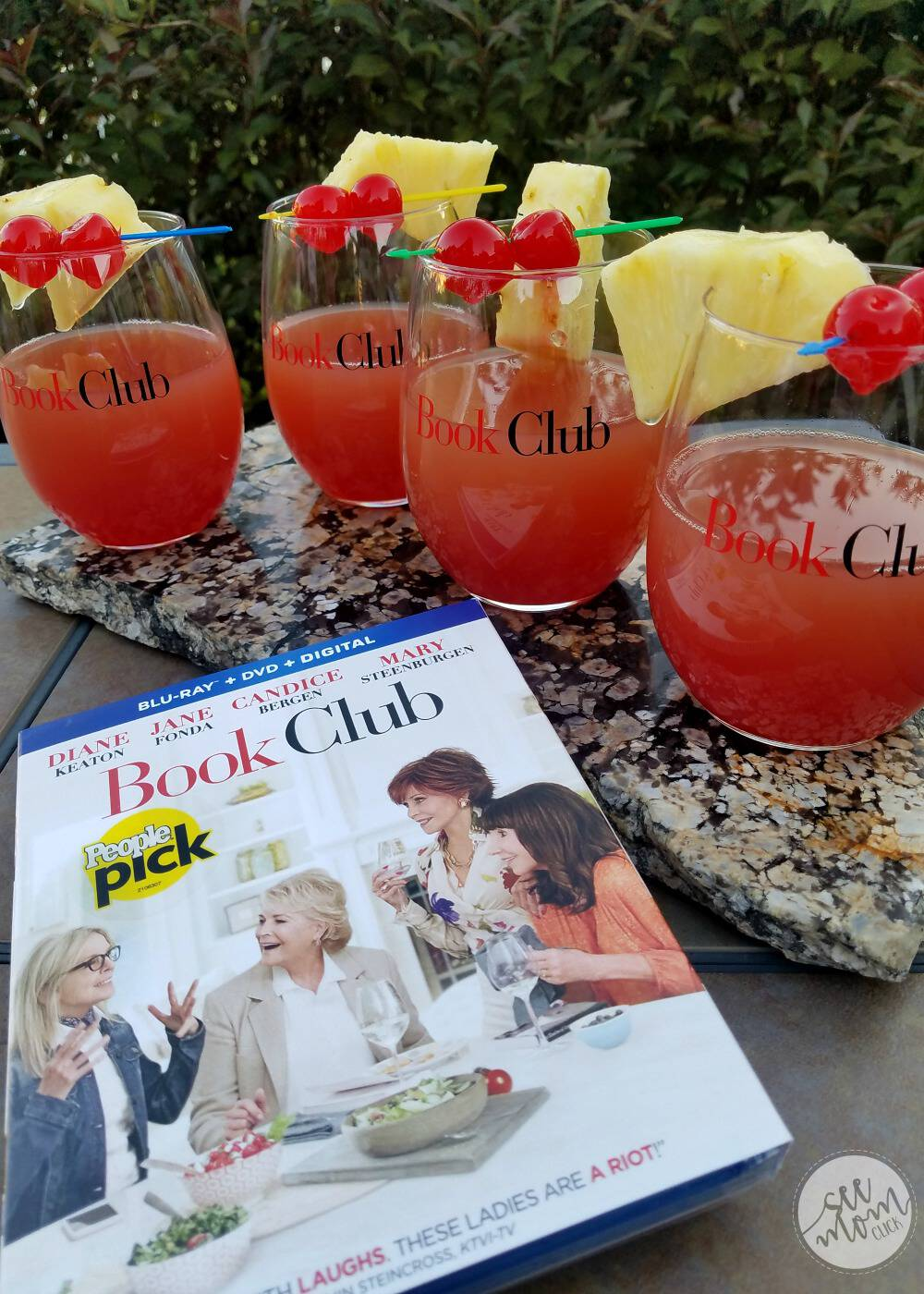 Where would we be without our girlfriends? Celebrate your friendships with a girls' night in. Grab a copy of Book Club on Blu-Ray and some drinks and enjoy!