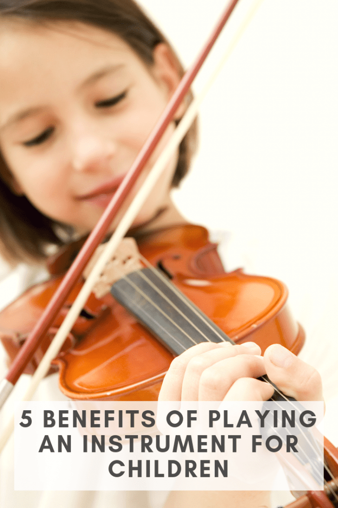 Besides making beautiful music, there are many benefits of playing an instrument for children. If you're on the fence about taking on one more thing (I get it, moms!), consider these added rewards. Want my opinion? It's worth it!