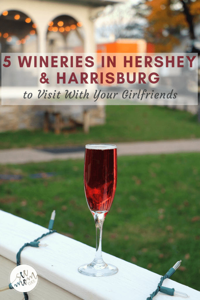 Grab your girlfriends and hit the wine trail! Here are the wineries in Hershey and Harrisburg, PA area that you don't want to miss on a tasting tour! You'll be able to hit each of these 5 wineries in Hershey, PA area in one day, and I've even got a transportation recommendation for you. Cheers to sipping the day away with your BFFs!