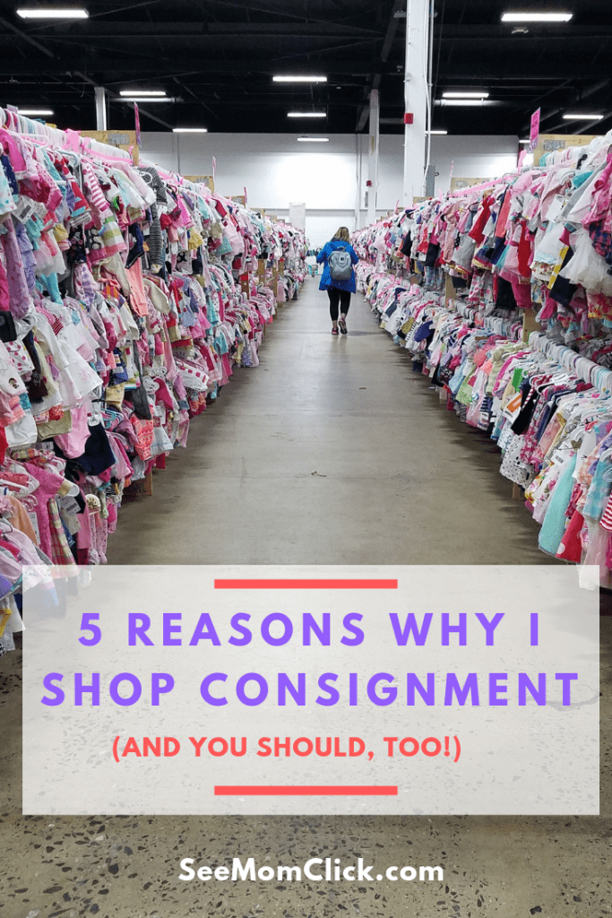 Do you shop consignment sales? I do! And here are the reasons that I never miss my local sale, and why you need to be doing it too!