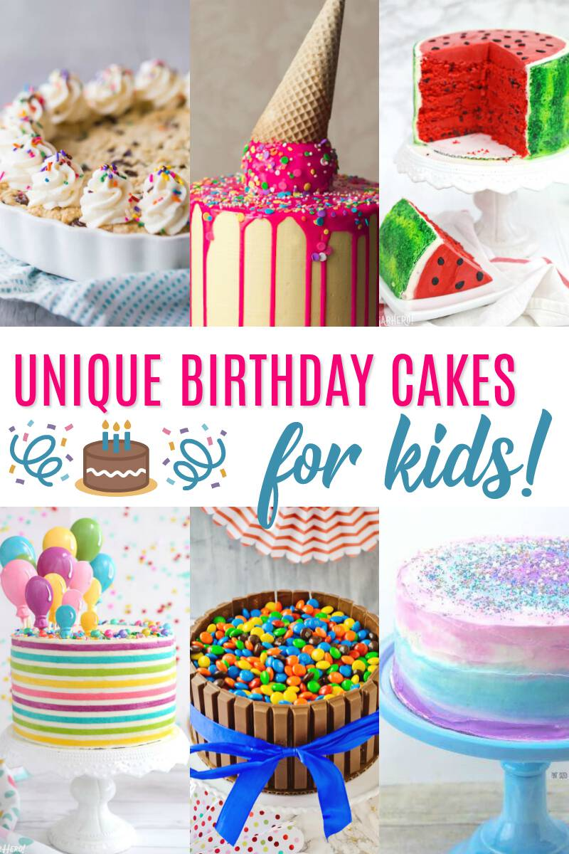 Take your kids' birthday parties to a whole'nother level with one of these unique birthday cakes for kids. You don't have to be a professional to pull these off, either! Make a creative cake stand the talk of the party with one of these easy tutorials!